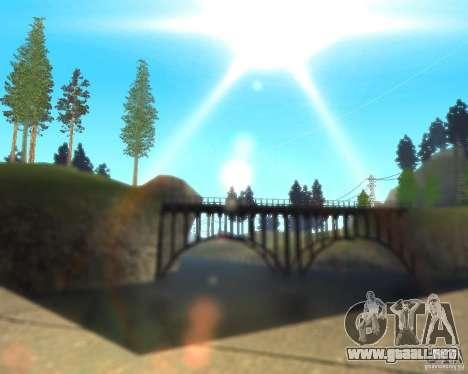 Real World ENBSeries v3.0 para GTA San Andreas tercera pantalla