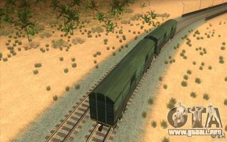 Un tren del juego Half-Life 2 para vista lateral GTA San Andreas