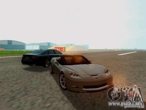 Chevrolet Corvette C6 GS Convertible 2012 para la visión correcta GTA San Andreas