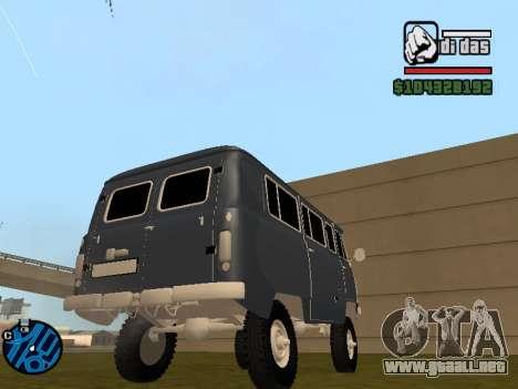 UAZ 2206 BPAN para GTA San Andreas left