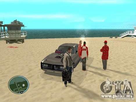 Pedy con bolsos y teléfonos para GTA San Andreas tercera pantalla