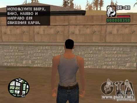 Skin para CJ-Cool guy para GTA San Andreas segunda pantalla