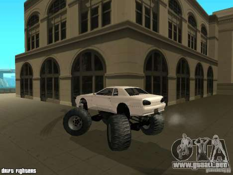 Elegy Monster para vista lateral GTA San Andreas