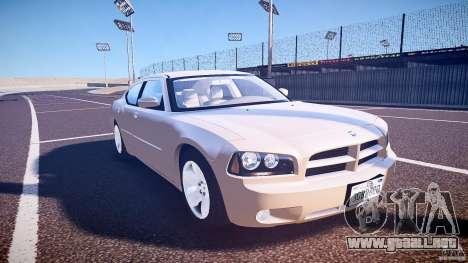 Dodge Charger RT Hemi 2007 Wh 1 para GTA 4 vista hacia atrás