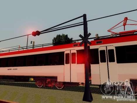 FERROCARRIL cruzando RUS V 2.0 para GTA San Andreas quinta pantalla
