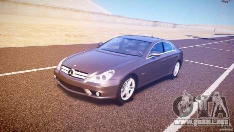 Mercedes-Benz CLS 63 para GTA 4 left