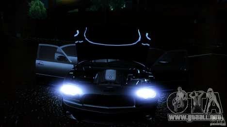 Dodge Charger RT 2010 para GTA San Andreas interior