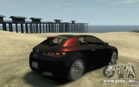 Alfa Romeo Brera para GTA 4 visión correcta