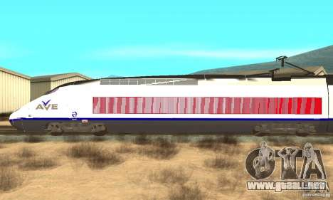 Express Train para GTA San Andreas left