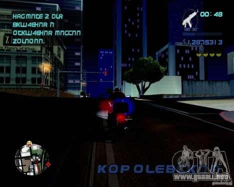 Not ENB para GTA San Andreas tercera pantalla
