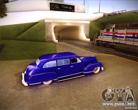 Lissiter 75 para GTA San Andreas left