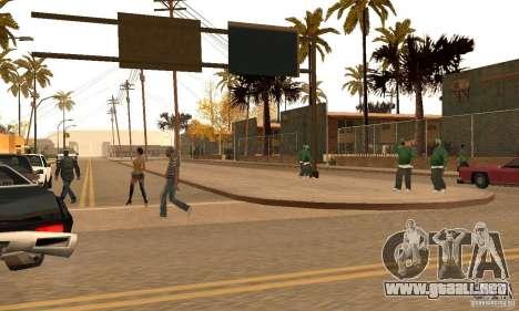 Autumn Mod v3.5Lite para GTA San Andreas segunda pantalla