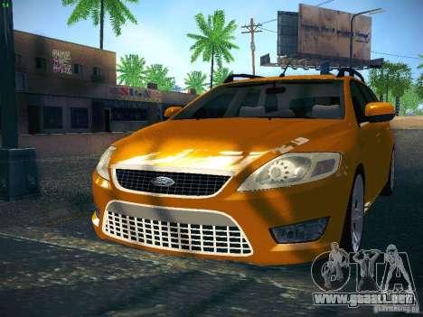 Ford Mondeo Sportbreak para GTA San Andreas left