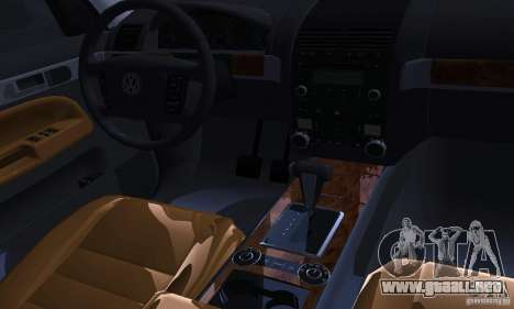 Volkswagen Touareg para vista lateral GTA San Andreas