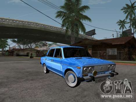 VAZ 2106 Retro V2 para GTA San Andreas vista hacia atrás