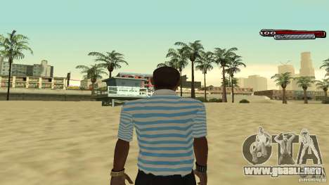New Latinos para GTA San Andreas sucesivamente de pantalla