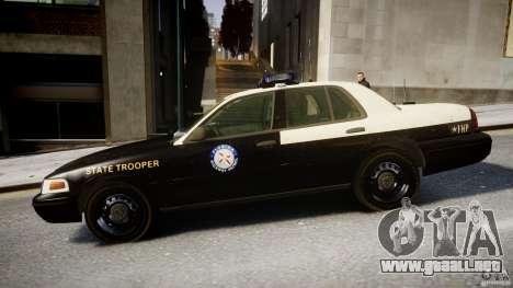 Ford Crown Victoria Fl Highway Patrol Units ELS para GTA 4 left