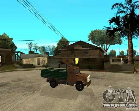 ZIL-433362 Extra Pack 1 para vista lateral GTA San Andreas