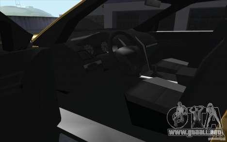 Ford Explorer Limited 2013 para vista lateral GTA San Andreas