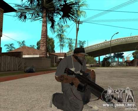 M4 Drum Magazine para GTA San Andreas segunda pantalla