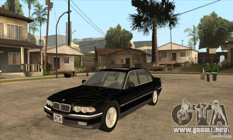 BMW E38 750IL para GTA San Andreas