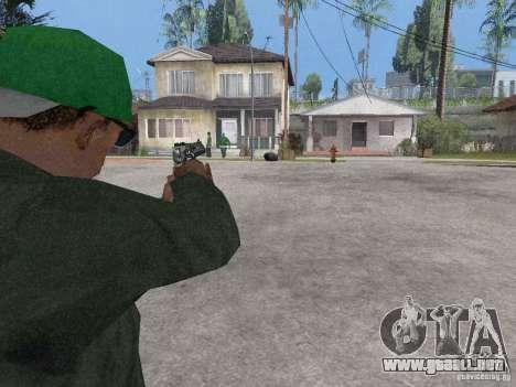Desert Eagle para GTA San Andreas sucesivamente de pantalla