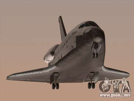 Space Shuttle para GTA San Andreas left