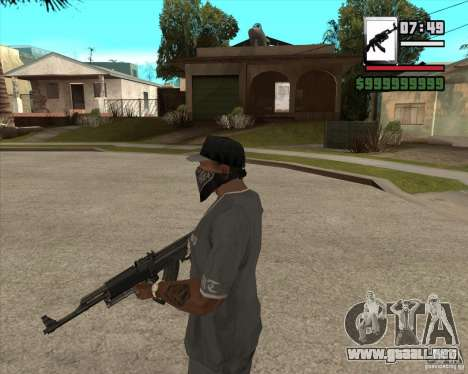AK47 with GP-30 para GTA San Andreas segunda pantalla