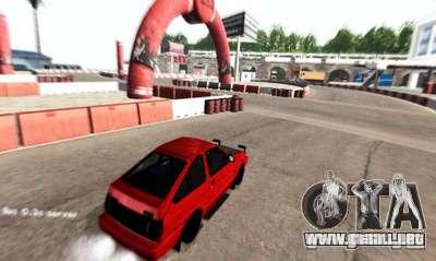 NFS:Shift Drift Tracks para GTA San Andreas