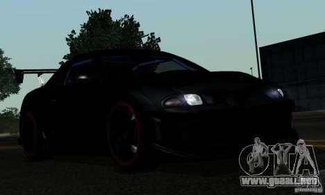 Mitsubishi Eclipse GSX 1999 para la vista superior GTA San Andreas
