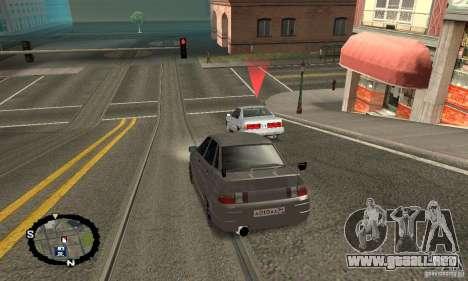 Carreras callejeras para GTA San Andreas segunda pantalla