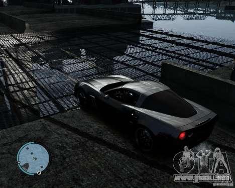 Chevrolet Corvette Grand Sport 2010 para GTA 4 visión correcta