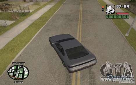 Nombres de las calles en el radar para GTA San Andreas tercera pantalla