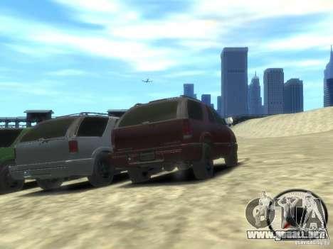 Chevrolet Blazer LS 2dr 4x4 para GTA 4 vista hacia atrás