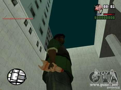 Black Weapon by ForT para GTA San Andreas sexta pantalla