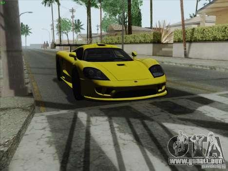 Saleen S7 Twin Turbo Competition Custom para la visión correcta GTA San Andreas