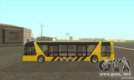 Autobús al aeropuerto para GTA San Andreas left