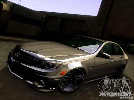 Mercedes-Benz C36 AMG para GTA San Andreas interior