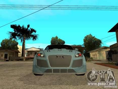 Audi TT 2007 Tuned para la visión correcta GTA San Andreas