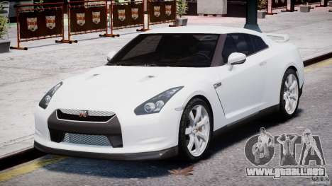 Nissan Skyline GT-R R35 para GTA 4