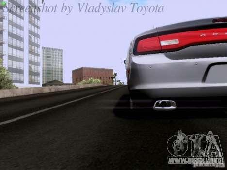 Dodge Charger 2013 para la vista superior GTA San Andreas