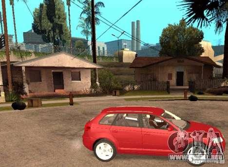 AUDI A3 para la visión correcta GTA San Andreas