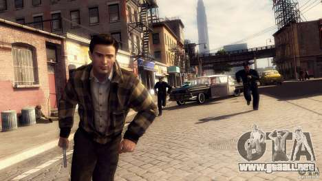 Imágenes de arranque en el estilo de una Mafia I para GTA San Andreas quinta pantalla