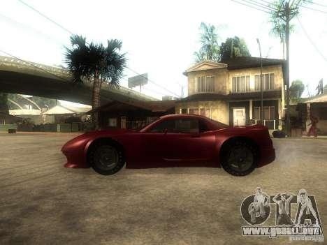 Axis Pegasus para GTA San Andreas left