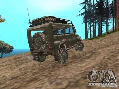 UAZ-31519 de COD MW2 para GTA San Andreas left