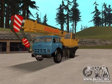 MAZ KS3577-4-1 Ivanovets para GTA San Andreas
