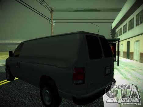 Ford E150 2000 para la visión correcta GTA San Andreas