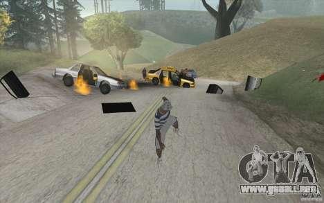 Ola de fuego para GTA San Andreas segunda pantalla