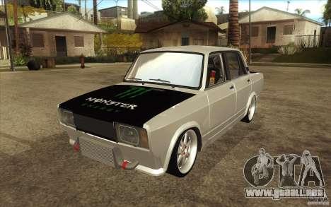 VAZ Lada 2107 Drift para GTA San Andreas