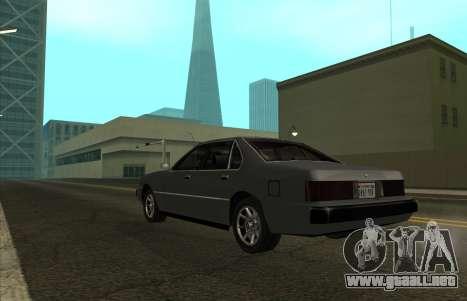 New Sentinel para GTA San Andreas left
